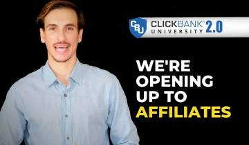 We are opening up to Affiliates