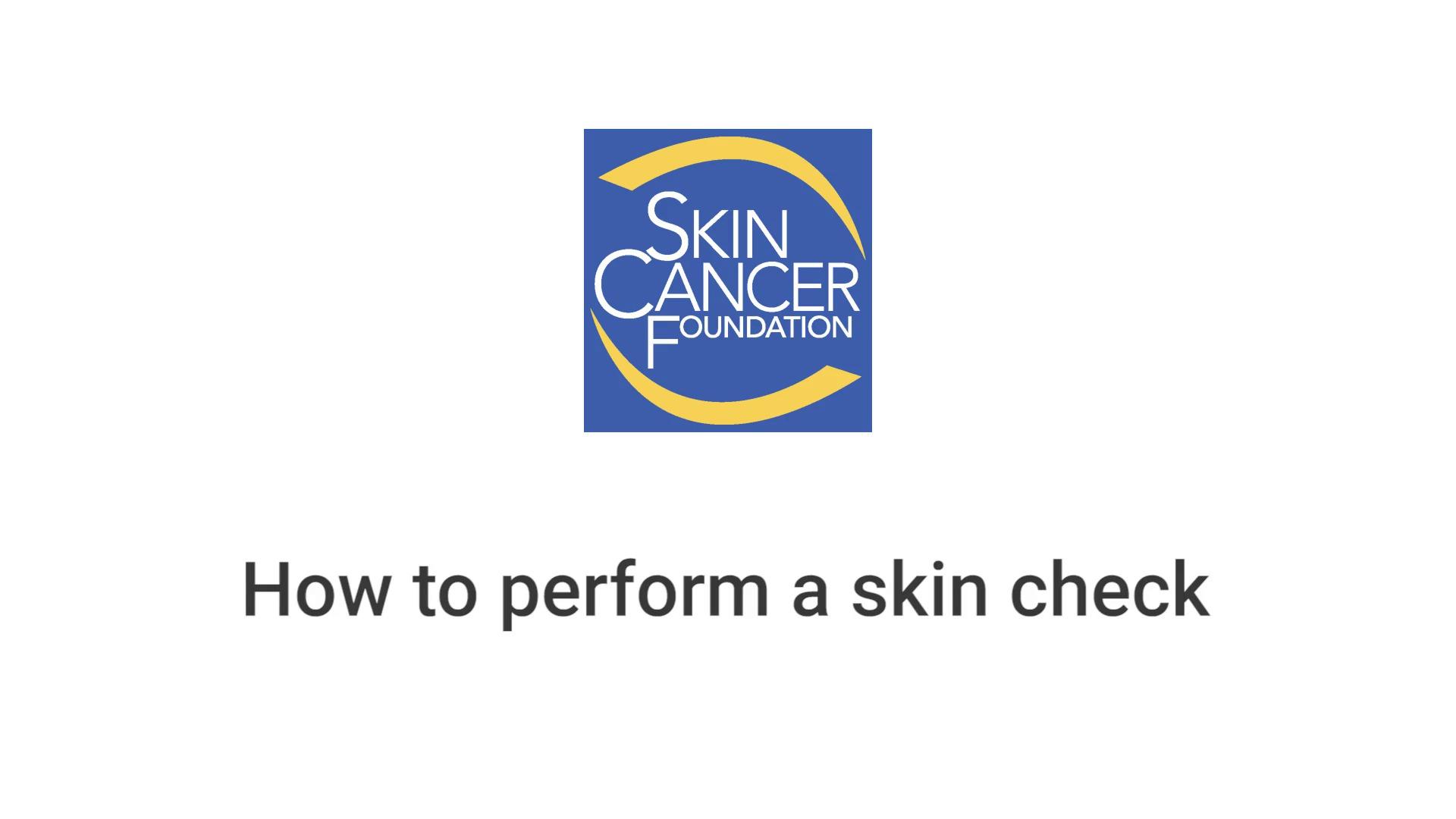 skin cancer foundation [ 1280 x 720 Pixel ]