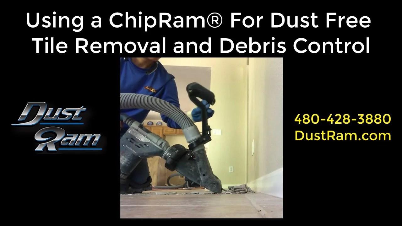 chipram dustless tile removal tool by dustram 480 428 3880