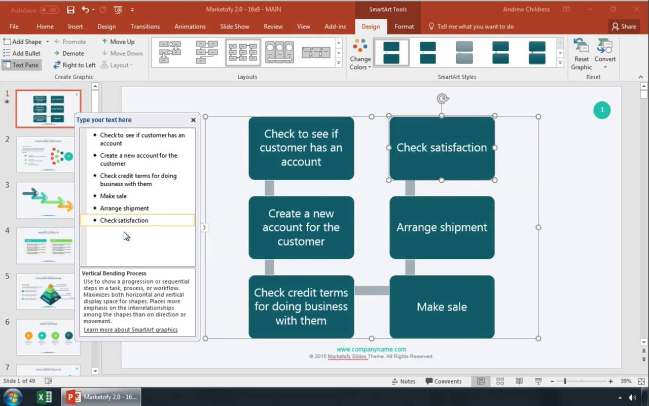 Video thumbnail also how to make  flowchart in powerpoint with templates rh business tutsplus