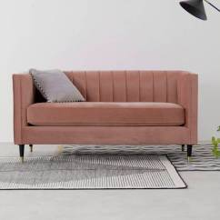 Pink Sofa Browse Uk Inflatable Outdoor Chair Evadine 2 Seater Blush Velvet Made Com A Video Thumbnail