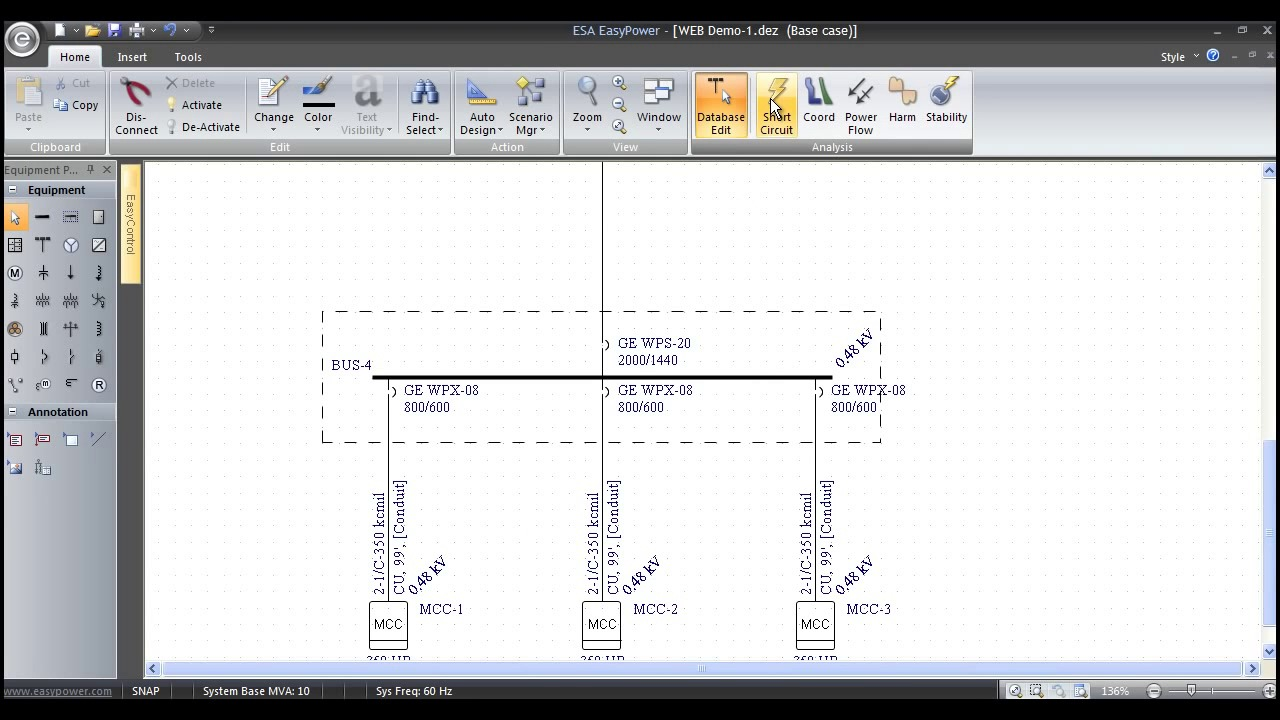 power one line diagram symbol [ 1280 x 720 Pixel ]