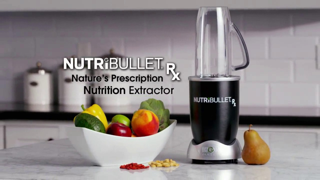 powerfully nutritious the nutribullet rx  [ 1280 x 720 Pixel ]