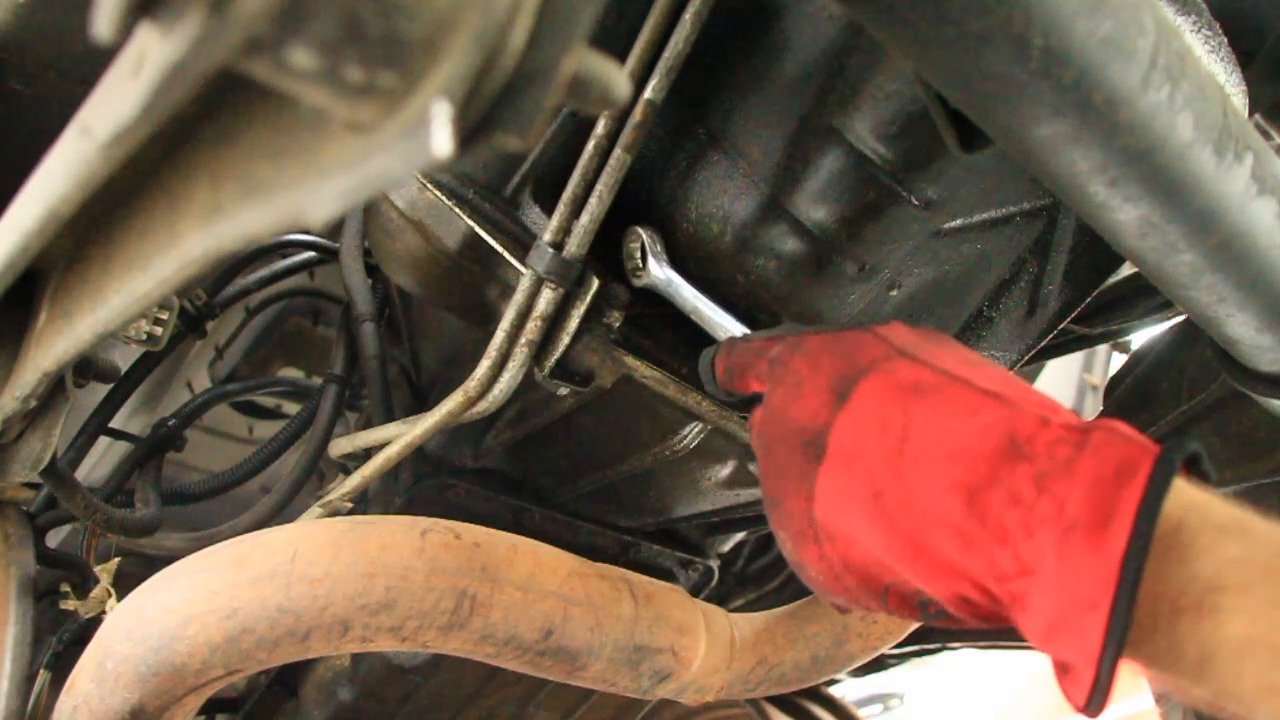 how to remove a 4 0l automatic transmission jeep series [ 1280 x 720 Pixel ]