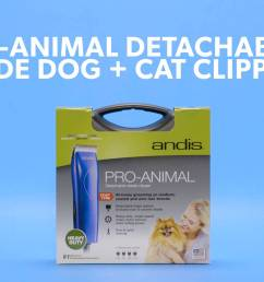 andis pro animal detachable blade dog cat clipper kit blue chewy com [ 1920 x 1080 Pixel ]