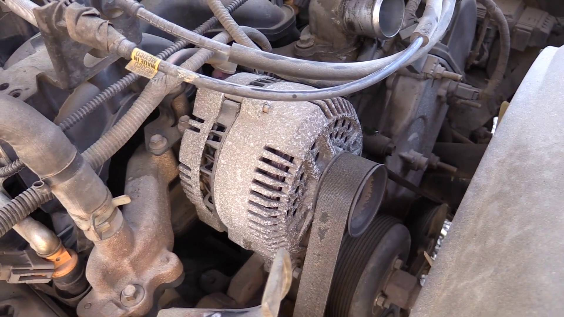 hight resolution of how to remove an alternator ford f150