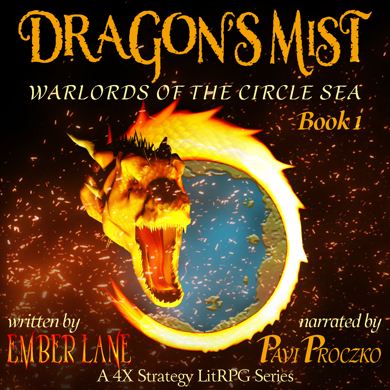 Dragons Mist Audiobook Cover Image