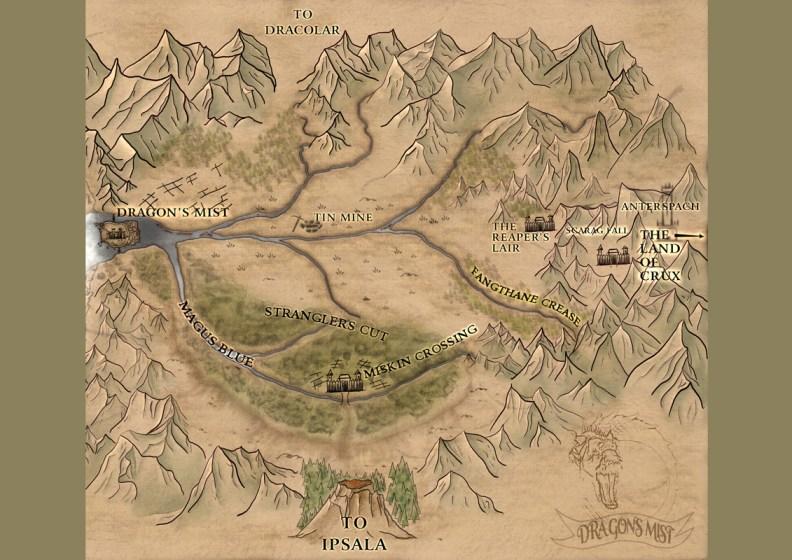 Dragon's Mist Land Map
