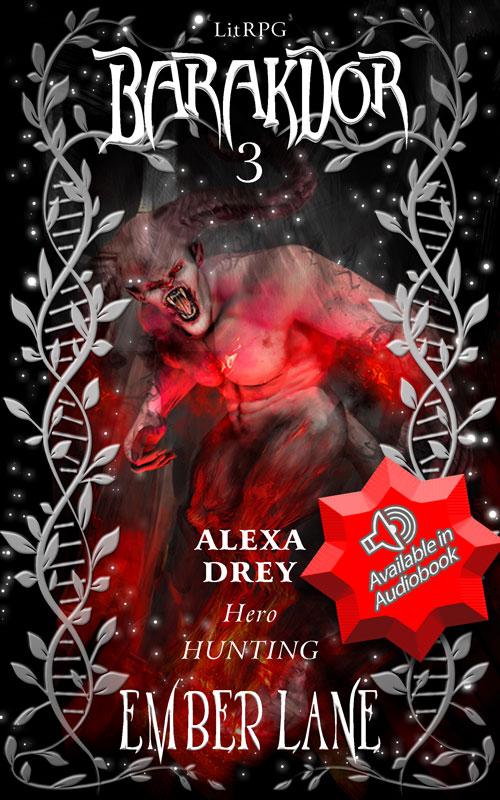 Hero Hunting Barakdor book 3 cover image