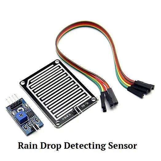 Raindrop-Sensor-Module Rain Sensor Interfacing with 8051