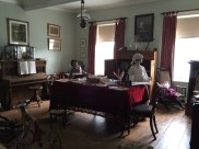 Victorian style room set up on the second floor. Visitors may or not trick themselves into thinking the life-like mannequins are moving. Talking a brisk walk/run down the stairs in reaction wont be too frowned upon. Photo: Heather Cameron.