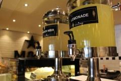 Fresh, homemade lemonade and ginger beer on offer. Photo Credit: Luyanda Mahlinza