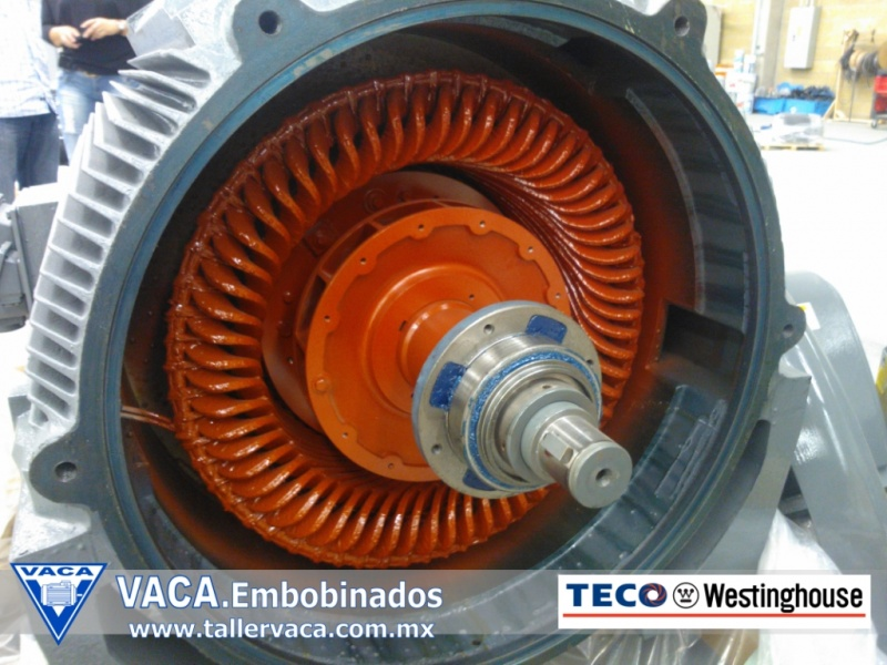 INFORMACION TECNICA Embobinados VACA  Taller de