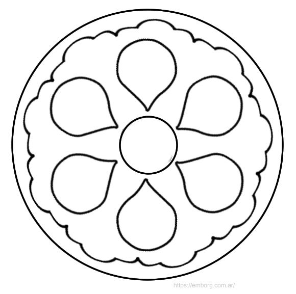 Como Dibujar Mandalas Paso A Paso Faciles Para Ninos