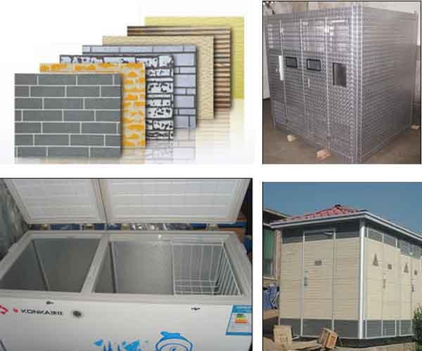 Stucco Embossed aluminium sheet Application
