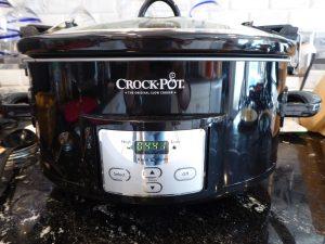crock pot venison roast