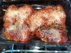 Italien Chicken Tenders Parmesan