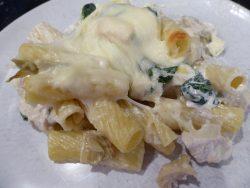 Chicken Spinach Artichoke Casserole
