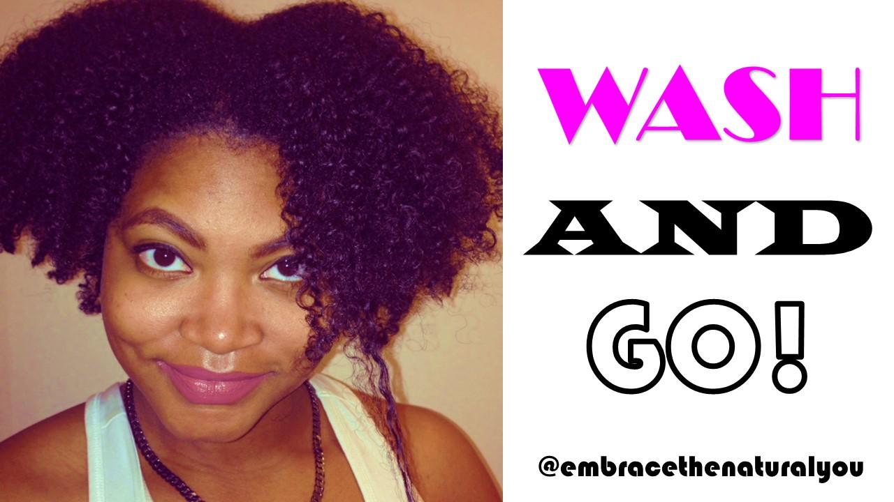Natural Hair Wash And Go Night Prep 3c 4a Medium Length