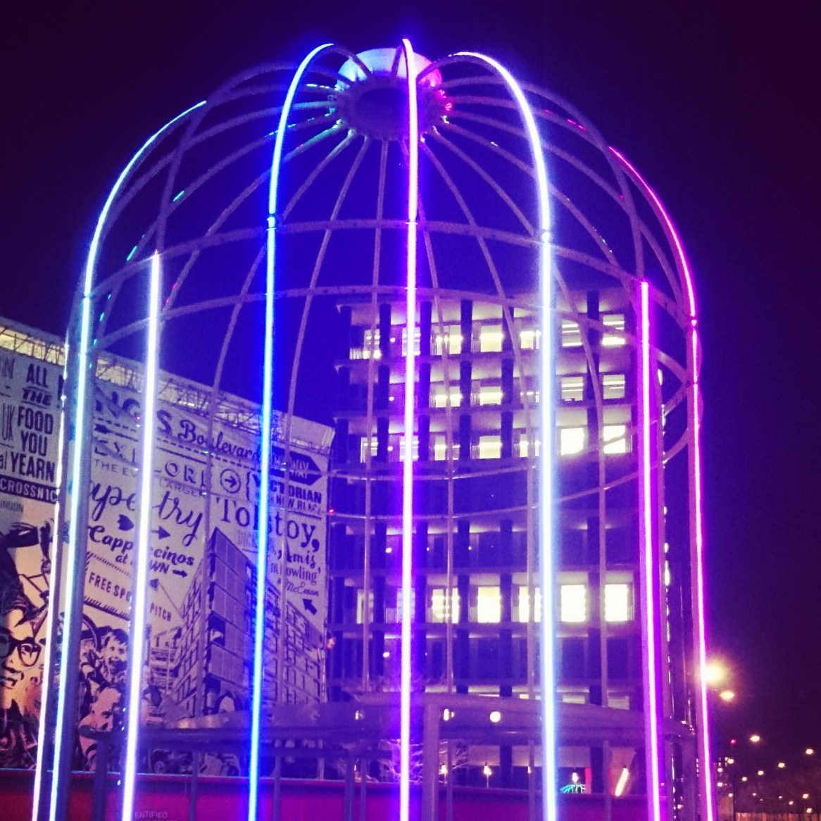 My favourite Bird Cage at Kings Cross...minus the cruicial swing!