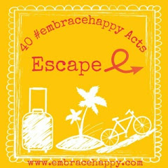 Escape! Sometimes we all need a break! Walk away from stress and find a safe haven to recharge your batteries.