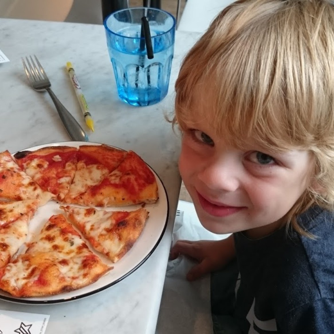 Pizza Express for lunch!