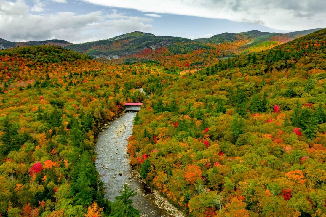 fall foliage New England