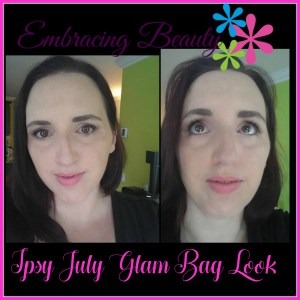Ipsy July Glam Bag all Products Makeup Embracing Beauty Kim Willis