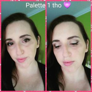 Younique's Eye Shadow Palette Addiction Palette 1 Makeup Embracing Beauty Kim Willis
