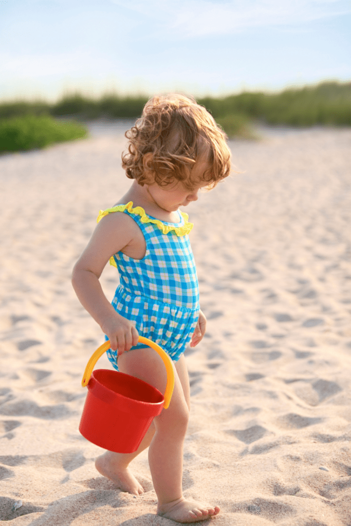 toddler activity beach day
