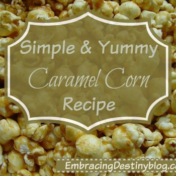 Caramel corn: a delicious part of our unit study!