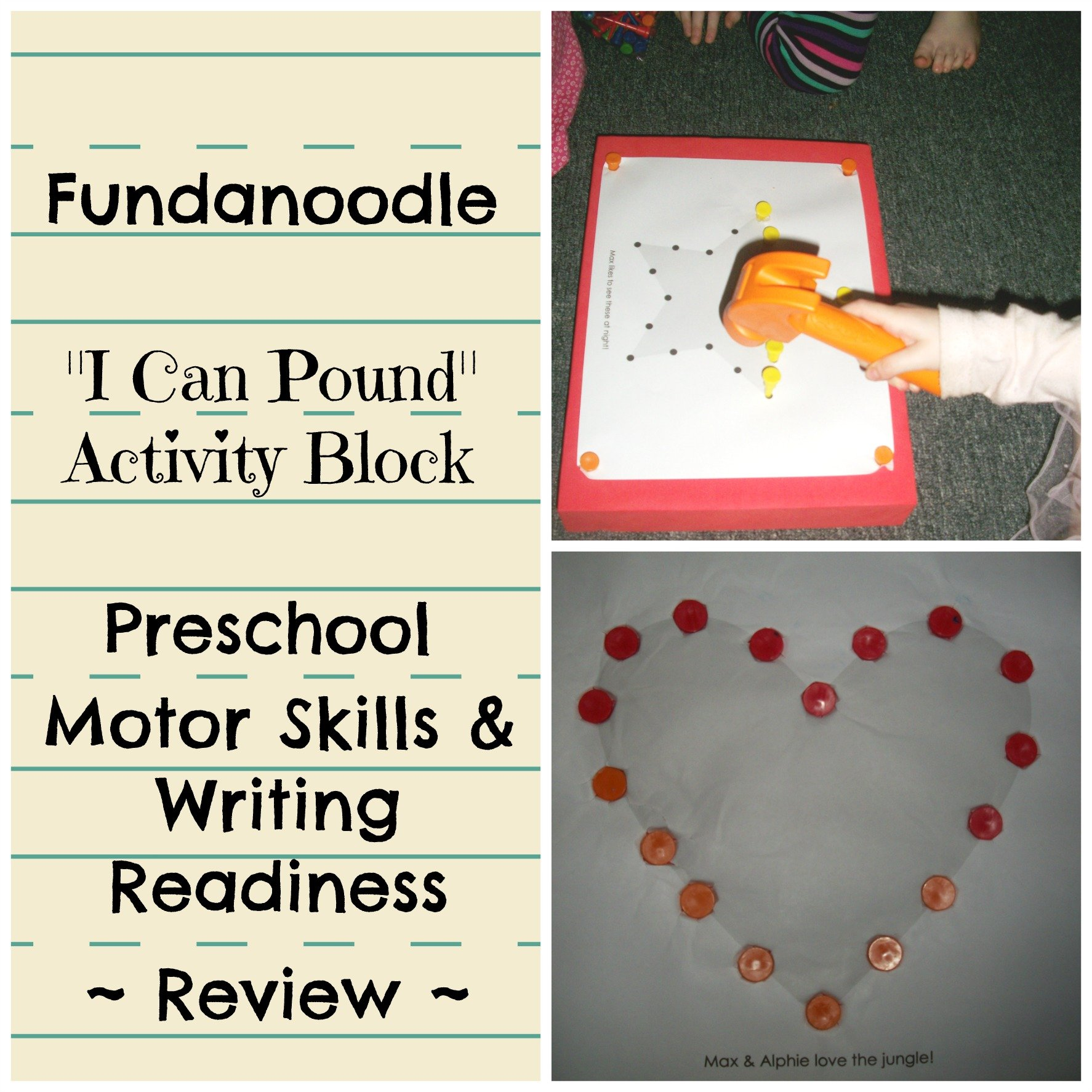 Schoolhouse Crew Review Preschool Writing Readiness Skills With Fundanoodle