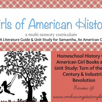 Girls of American History Unit Study Curriculum {review}