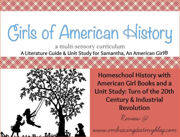 American Girls homeschool history unit study