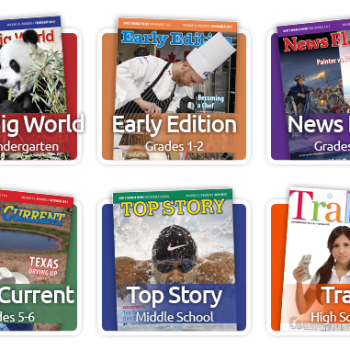 Schoolhouse Crew Review: News Current from God's World News