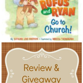 """""""Rufus and Ryan Go to Church!"""" by Kathleen Long Bostrom (Review & Giveaway)"""