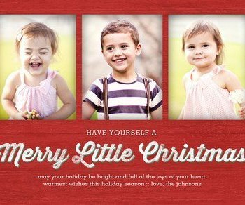 Make your own Christmas cards and save money