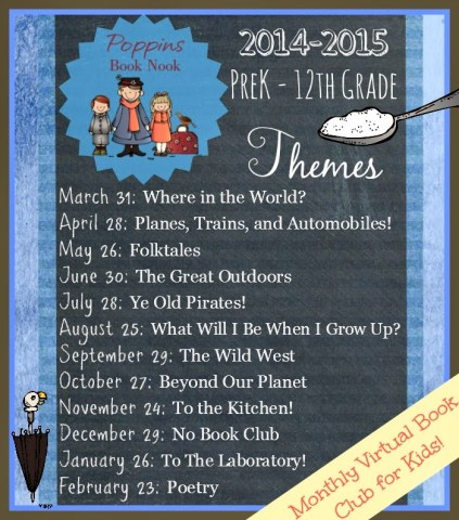 Poppins Book Nook themes