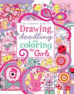 Picture of Drawing, Doodling and Coloring Book Girls