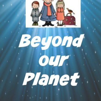 Beyond our Planet: Exploring Space Books & Activities {Poppins Book Nook}