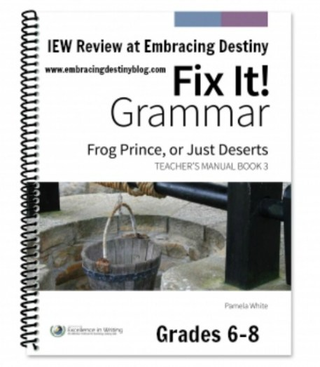 IEW Fix It! Grammar #hsreview