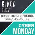 Educents Sale + extra 10% off and free shipping for embracingdestinyblog.com readers!