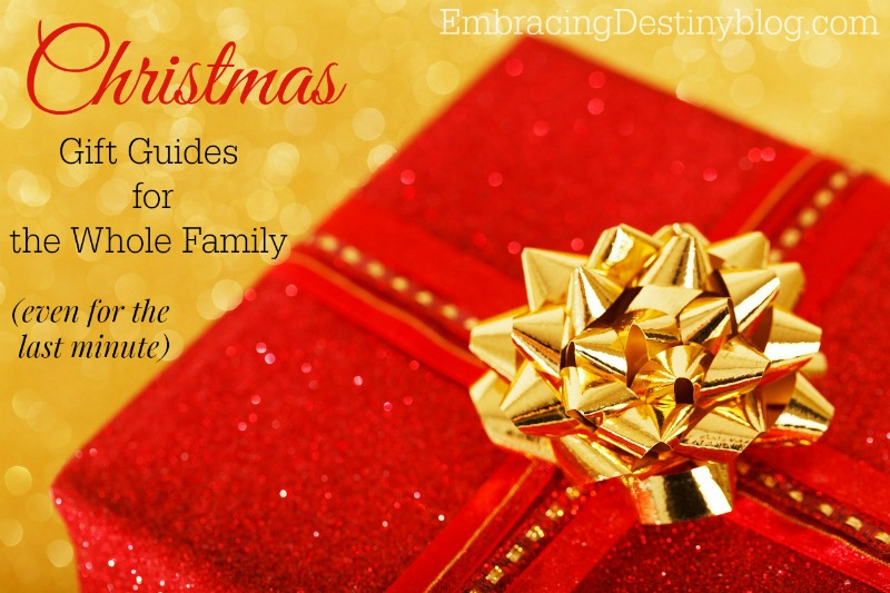 Christmas gift guides for the whole family
