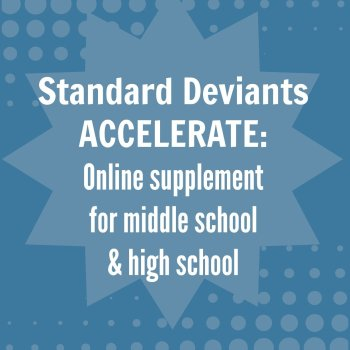 Standard Deviants Accelerate {review}