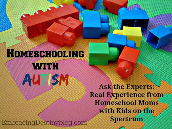 homeschooling with autism