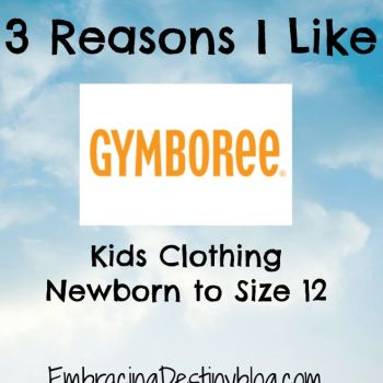 3 Reasons I Like Gymboree
