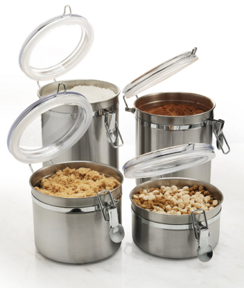 Freshbox 4-Piece canister sets kitchen