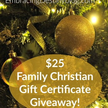 War Room DVD Pre-Buy + Family Christian Gift Certificate Giveaway!