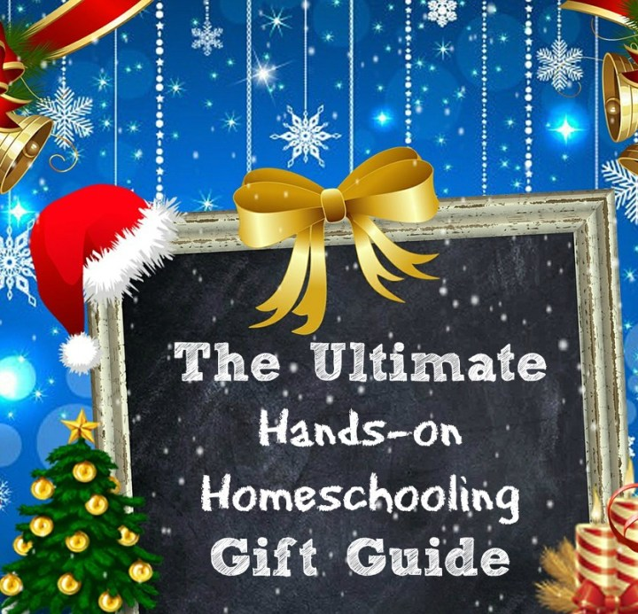 The Ultimate Hands-on Homeschooling Christmas gift guide. Ideas for homeschoolers who enjoy hands-on projects and delight-directed learning. embracingdestinyblog.com