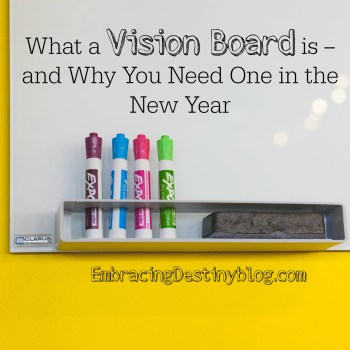 What a Vision Board is and Why You Need One in the New Year